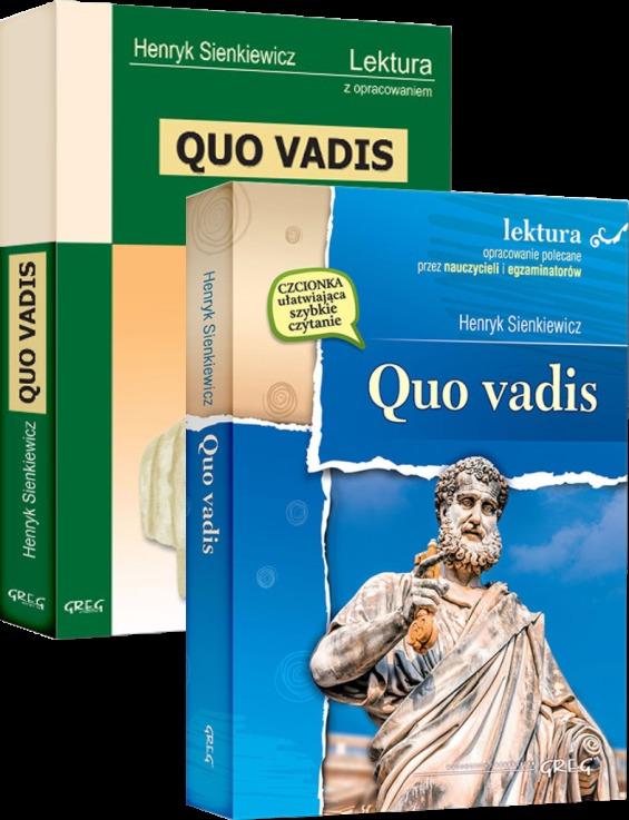 Quo Vadis - Henryk Sienkiewicz - Opracowania i lektura