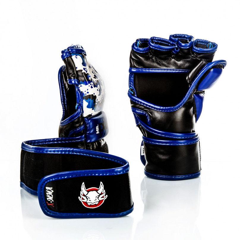 Rękawice MMA Mr. Dragon X-MMA Niebieskie Rozmiar odzieży: XS