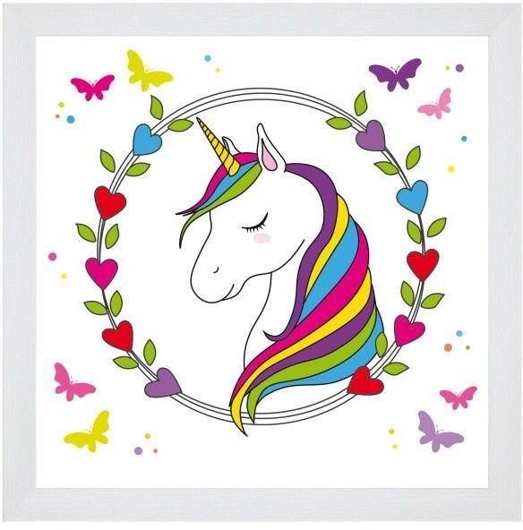 Obraz Unicorn 2 20 x 20 cm