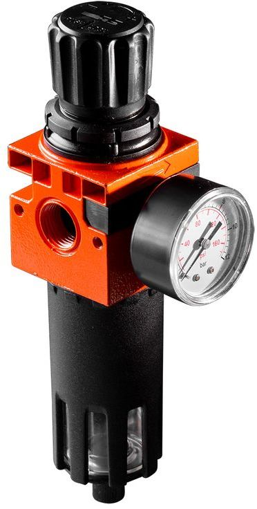 Filtr sprężonego powietrza 1/2cala z reduktorem ciśnienia metalowa obudowa 12-582
