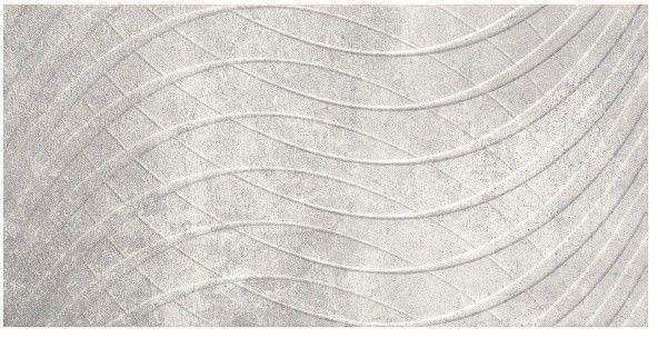 Dekor Phonique Paradyż 30 x 60 cm grys struktura B