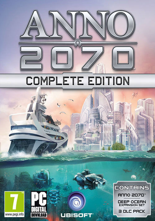 Anno 2070 Complete Edition (PC) klucz Uplay