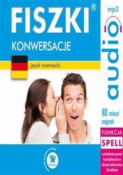 FISZKI audio j. niemiecki Konwersacje - Audiobook.