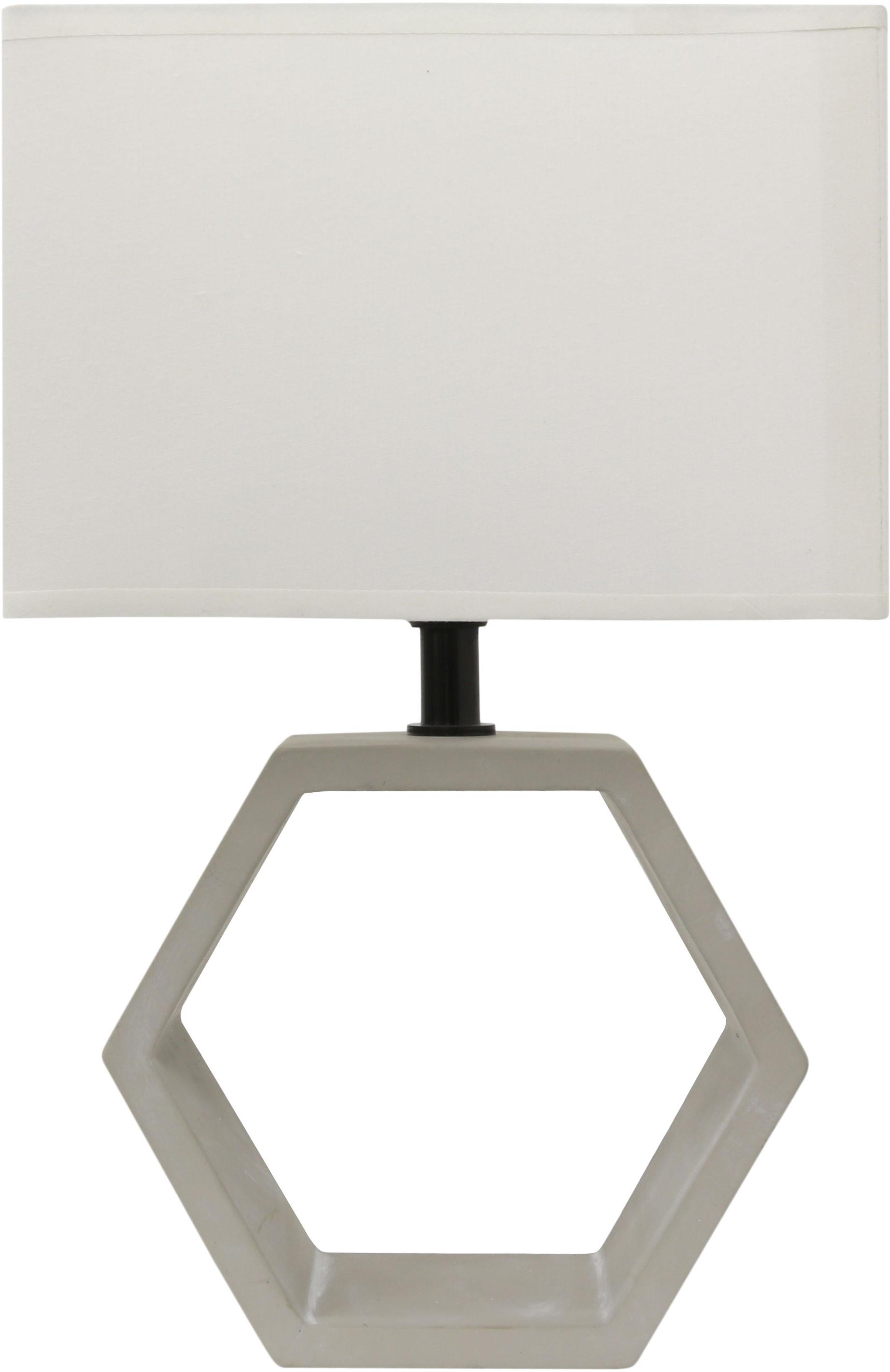Candellux VIDAL 41-68545 lampa stołowa abażur beżowy 1X40W E27 masa gipsowa 35cm