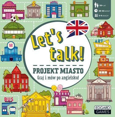 Gra do nauki języka angielskiego. Lets talk! Projekt miasto ZAKŁADKA DO KSIĄŻEK GRATIS DO KAŻDEGO ZAMÓWIENIA