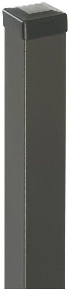 Słupek ogrodzeniowy 7 x 7 x 200 cm antracytowy POLBRAM