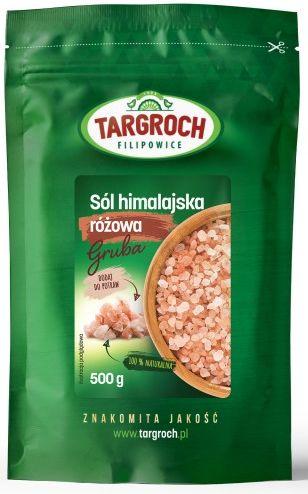Sól Himalajska Różowa Gruba 500g - Targroch