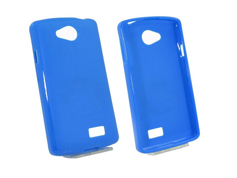 LG F60 - etui na telefon - niebieski