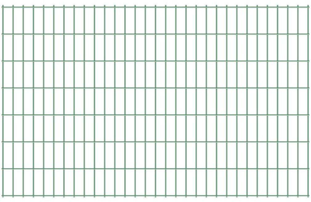 Panel ogrodzeniowy 2D STRONG 143 x 250 cm zielony
