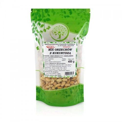 Mix orzechów nerkowca i ziemnych z kukurydzą 450 g