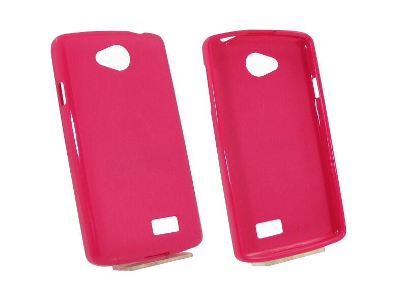LG F60 - etui na telefon - różowy