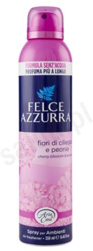 Felce Azzurra Kwiaty wiśni i piwonia - odświeżacz powietrza w sprayu (250 ml)