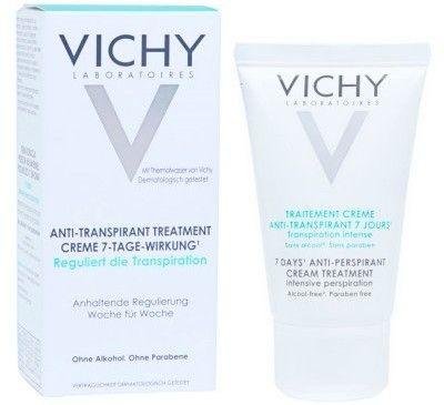 Vichy Deodorant kremowy antyperspirant do wszystkich rodzajów skóry 30 ml
