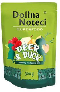 Dolina Noteci Superfood - jeleń/kaczka 300g saszetka