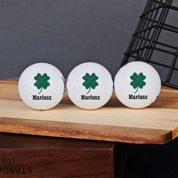 Koniczyna - Personalizowane piłeczki golfowe