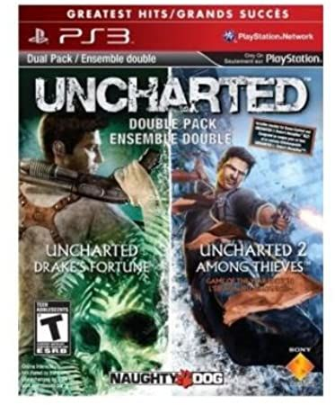 Uncharted 1 & 2 Pack PS 3