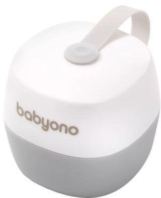 Babyono Natural Nursing pojemnik na smoczek biały 1 sztuka [535/01]