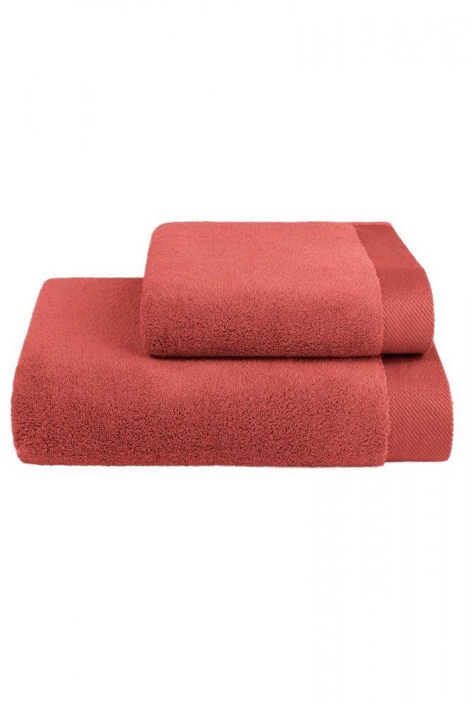 Mały ręcznik MICRO COTTON 32x50cm Terakota