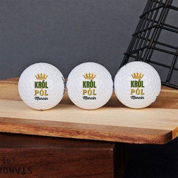 Król pól - Personalizowane piłeczki golfowe