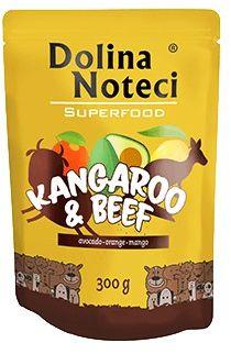 Dolina Noteci Superfood - kangur/wołowina 300g saszetka