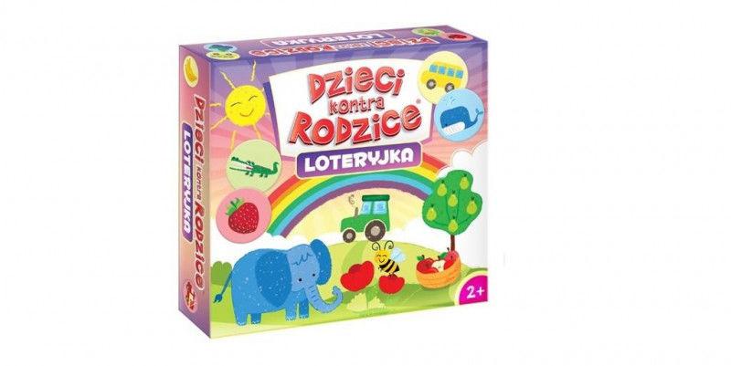 Dzieci kontra rodzice Loteryjka ZAKŁADKA DO KSIĄŻEK GRATIS DO KAŻDEGO ZAMÓWIENIA