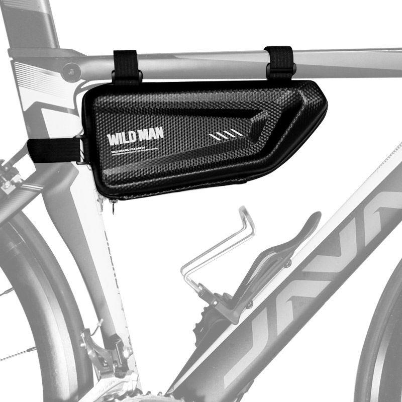 "Sakwa rowerowa Wildman Hardpouch Bike Mount ""E4"" Black (WLDM-BIKE E4 BLK)"