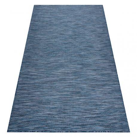 Dywan SZNURKOWY SIZAL płaskotkany PATIO 2778 niebieski 78x150 cm