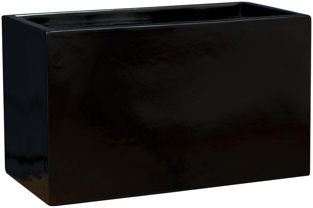 Donica z włókna szklanego D272S czarny połysk