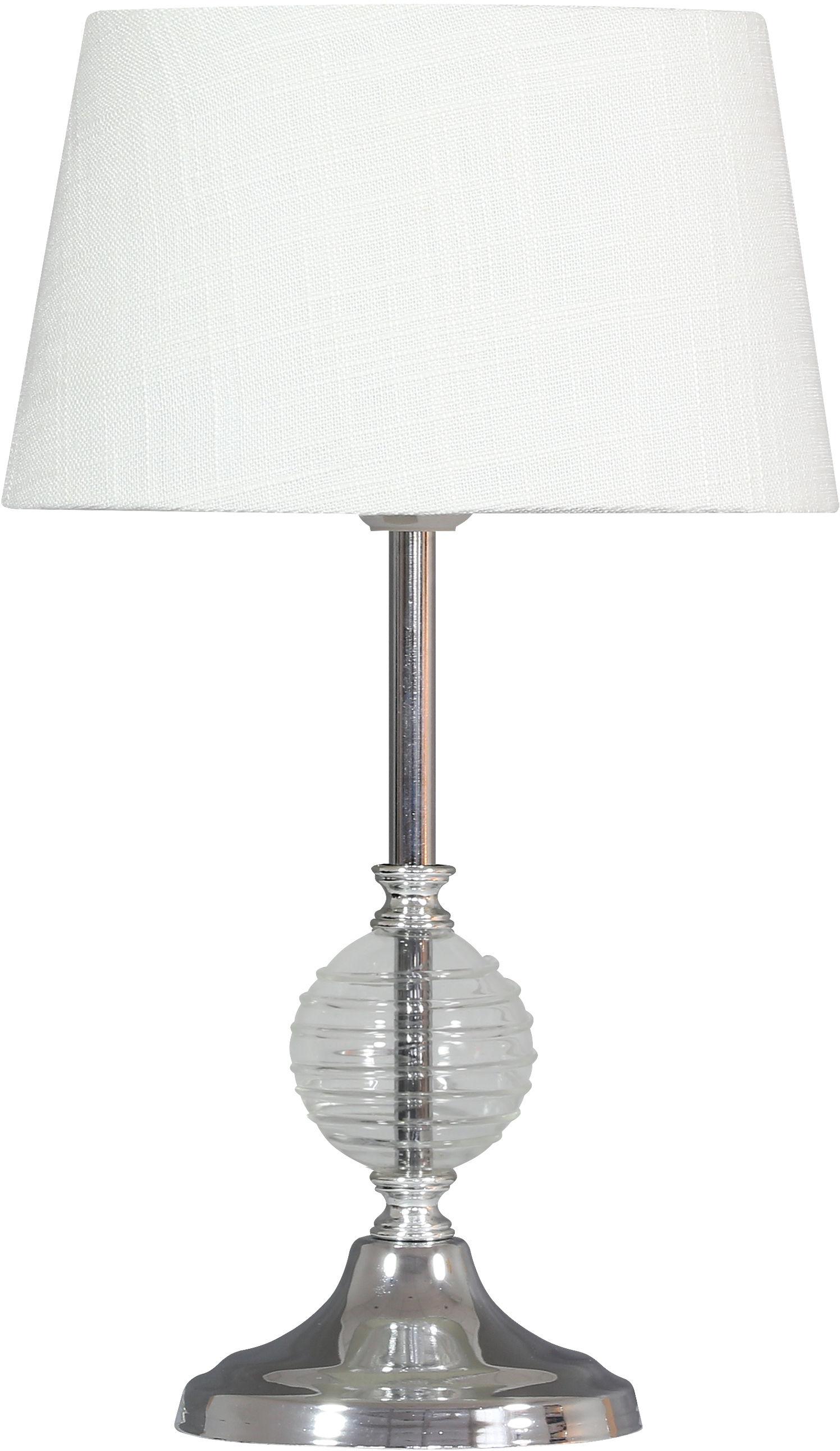 Candellux FERO 41-95046 lampa stołowa transparentna 1X60W E27 20 cm