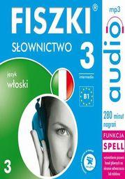 FISZKI audio j. włoski Słownictwo 3 - Audiobook.