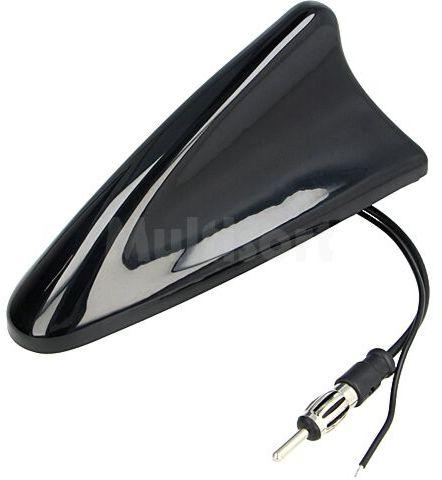 Antena samochodowa SHARK AM/FM DIN czarny 12VDC