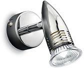 Kinkiet ALFA AP1 CROMO 089560 -Ideal Lux  Skorzystaj z kuponu -10% -KOD: OKAZJA