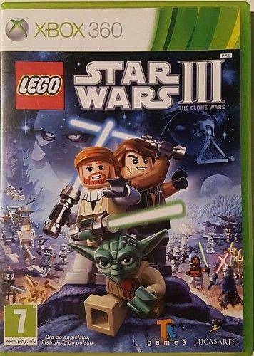 LEGO Star Wars III Clone Wars X360