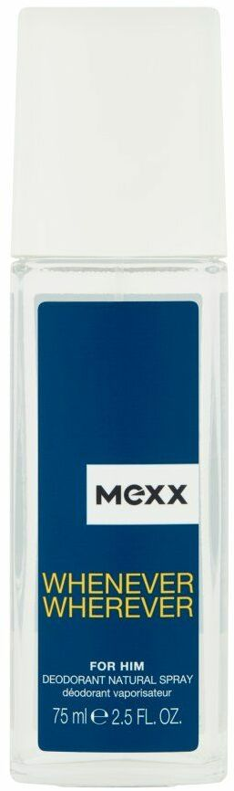 MEXX Whenever Wherever For Him DEO spray glass 75ml