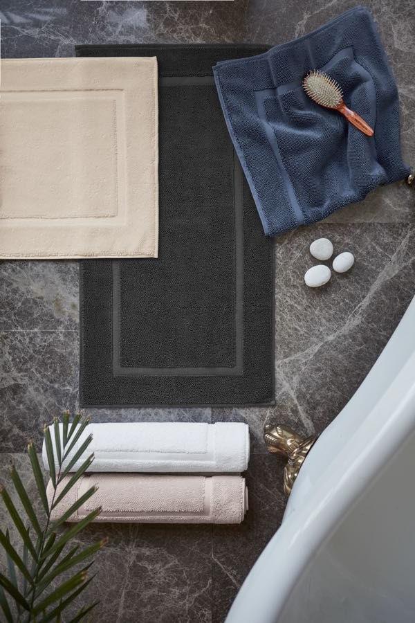 Dywanik łazienkowy NODE 50x90cm Śmietankowy