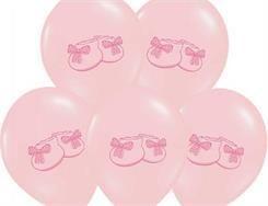 Balon 14 Buciki różowy