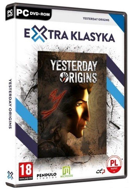 Extra Klasyka - Yesterday Origins PC ZAKŁADKA DO KSIĄŻEK GRATIS DO KAŻDEGO ZAMÓWIENIA