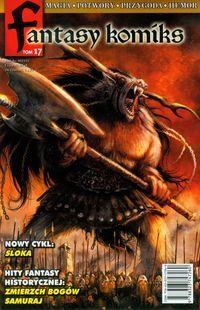Fantasy komiks T.17 ZAKŁADKA DO KSIĄŻEK GRATIS DO KAŻDEGO ZAMÓWIENIA