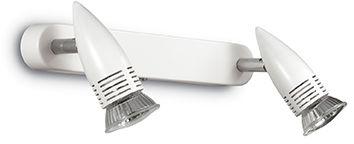 Kinkiet ALFA AP2 BIANCO 122717 -Ideal Lux  Skorzystaj z kuponu -10% -KOD: OKAZJA