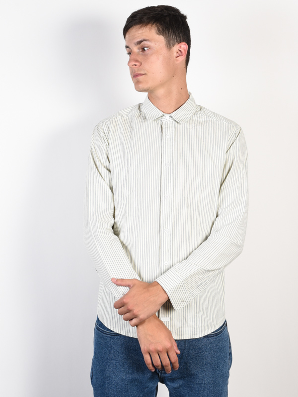 RVCA HI GRADE SILVER BLEACH koszulka z długim rękawem męska - M