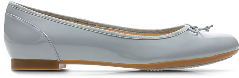 Baleriny damskie Clarks Couture Bloom szare261392924