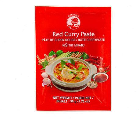 Pasta curry czerwona 50g Tajlandia 4 szt.