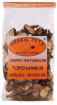 Chipsy naturalne Topinambur króliki gryzonie 75 g