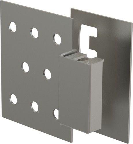Drzwiczki rewizyjne magnetyczne 65x14x57mm(do płytek), basic