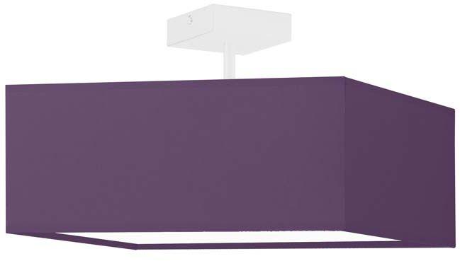 Designerska lampa wisząca ALBA - kolor fioletowy/biały 2xE27 WYSYŁKA 24H