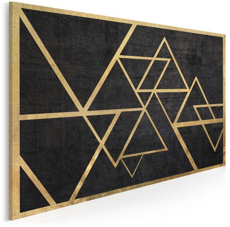 Szlachetny blichtr - nowoczesny obraz na płótnie - 120x80 cm