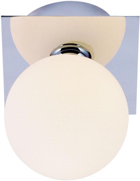 Globo CARDIFF plafon lampa sufitowa chrom 1xG9 LED 3W 3000K 11cm IP44