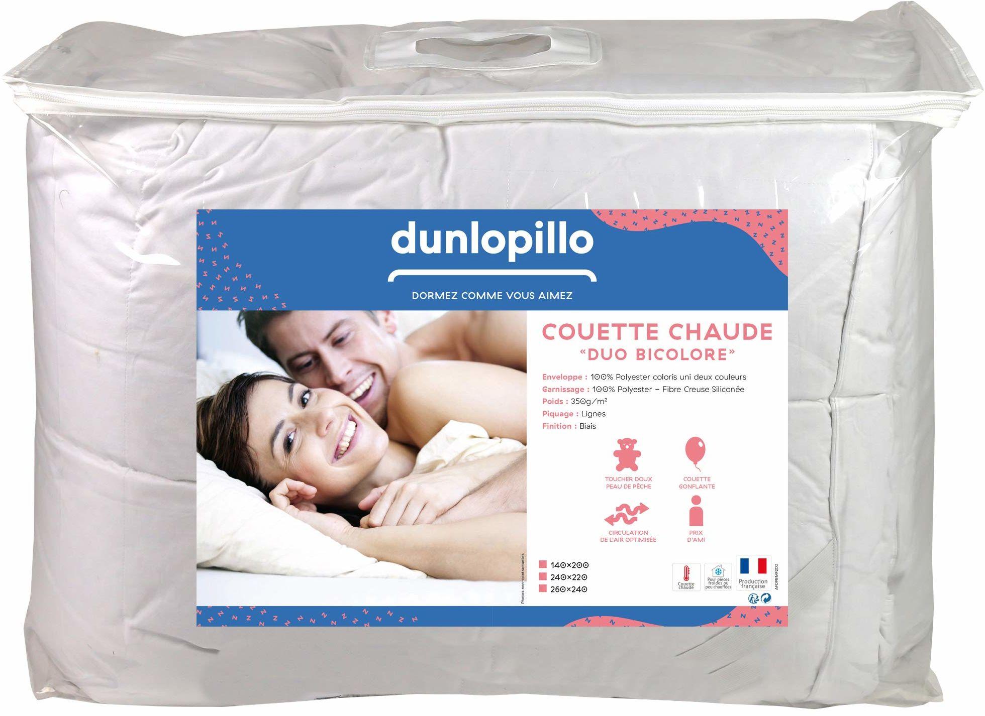 Dunlopillo kołdra biała, 240 x 260 cm