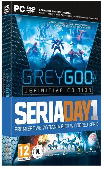 Grey Goo Definitive Edition ZAKŁADKA DO KSIĄŻEK GRATIS DO KAŻDEGO ZAMÓWIENIA