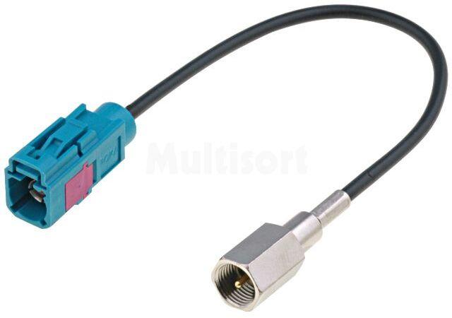 Adapter antenowy GPS FME męski / Fakra gniazdo 0,15m
